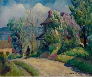 Leon Kroll Rondout NY 1920