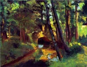 Camille Pissaro The Little Bridge